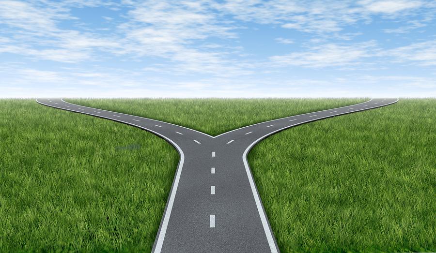 Sta je op een kruispunt in je leven?
