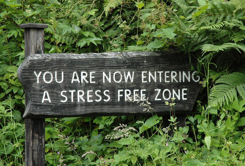 Stress gevoel